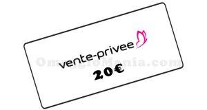 buono Vente Privee 20 euro
