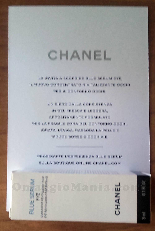 campione omaggio Chanel Blue Serum di Balala