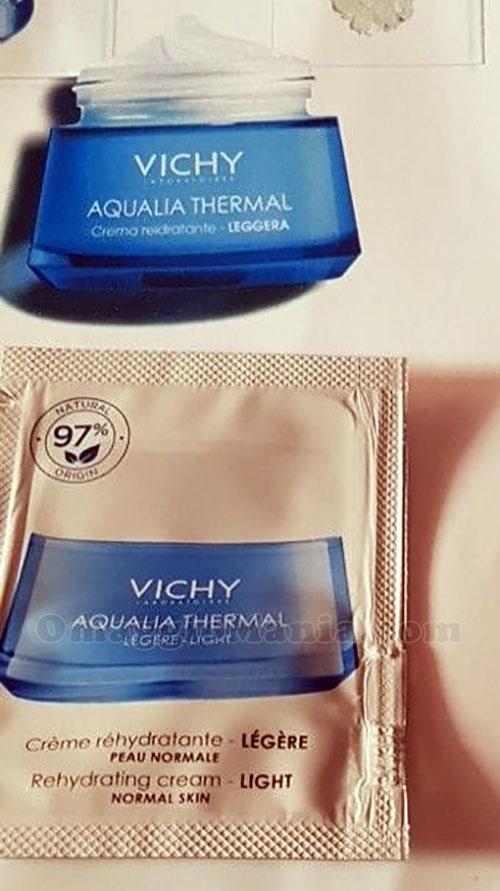 campione omaggio Vichy Aqualia Thermal di Brenda