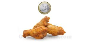 chicken wings 1 euro
