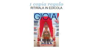 coupon omaggio Gioia 25 2018