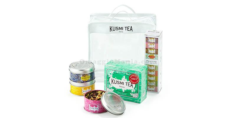 kit da viaggio Kusmi Tea