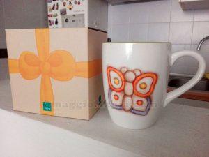 mug farfalla Thun di Gianni