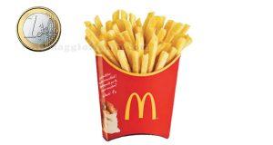 patatine grandi a 1 euro da McDonald's