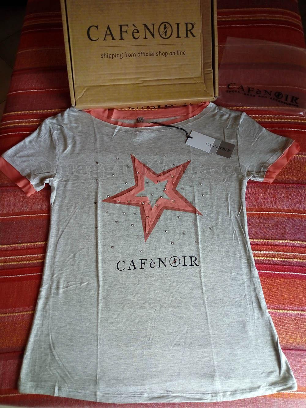 """t-shirt CaféNoir di Mary con il concorso """"My wellness attitude"""""""