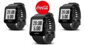 vinci smartwatch Garmin Forerunner con Coca Cola