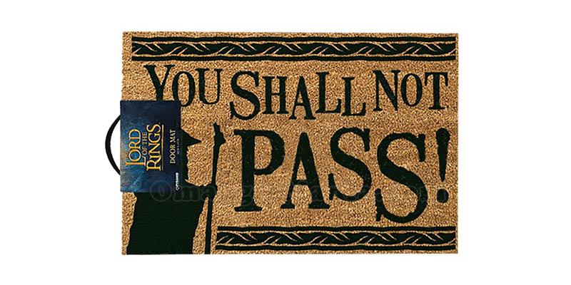 zerbino You Shall Not Pass Il Signore degli Anelli
