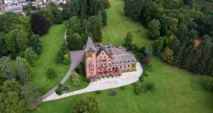 castello di Saareck a Mettlach in Germania