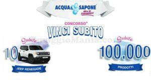 concorso Acqua & Sapone Vinci subito