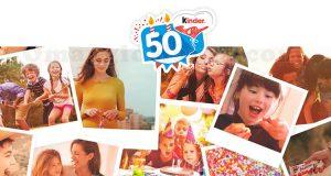 concorso compleanno 50 anni di Kinder