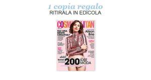 coupon omaggio Cosmopolitan 8 2018