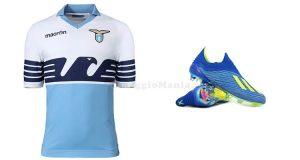 maglietta Lazio e scarpini Adidas