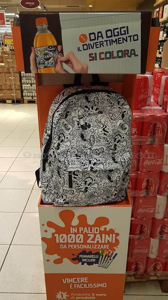 vendita calda online 6682c 399a7 Zaino personalizzabile con Coca-Cola, Fanta, Sprite ...