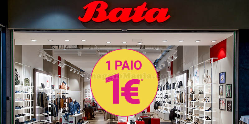 Bata 1 paio 1 euro