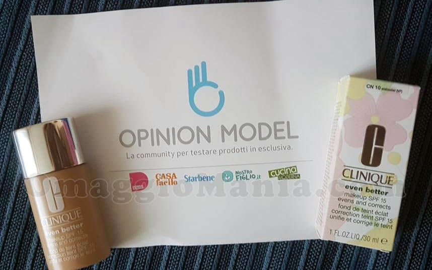 Clinique Even Better MakeUp di Nadia con Opinion Model