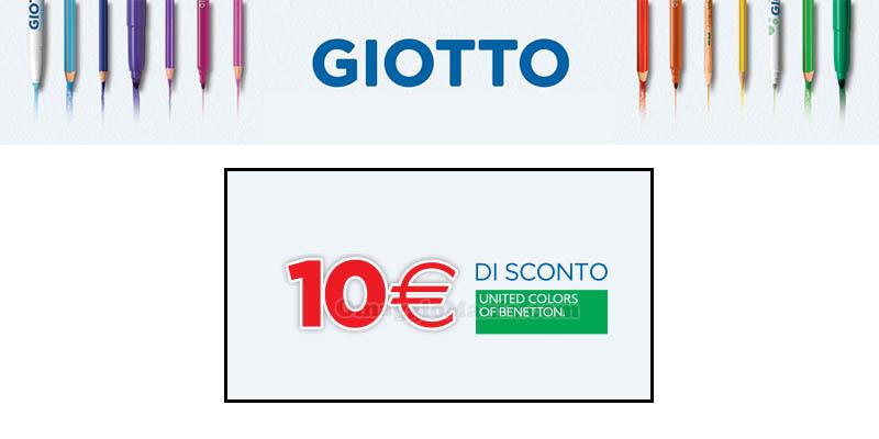 Giotto Benetton Crescere a colori