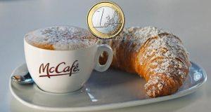 colazione 1 euro McDonald's settembre 2018