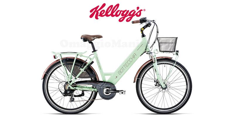 concorso Kellogg's vinci ogni settimana una bicicletta elettrica