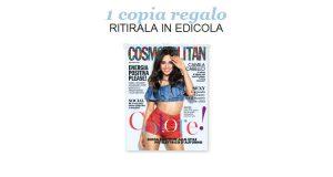 coupon omaggio Cosmopolitan 9 2018