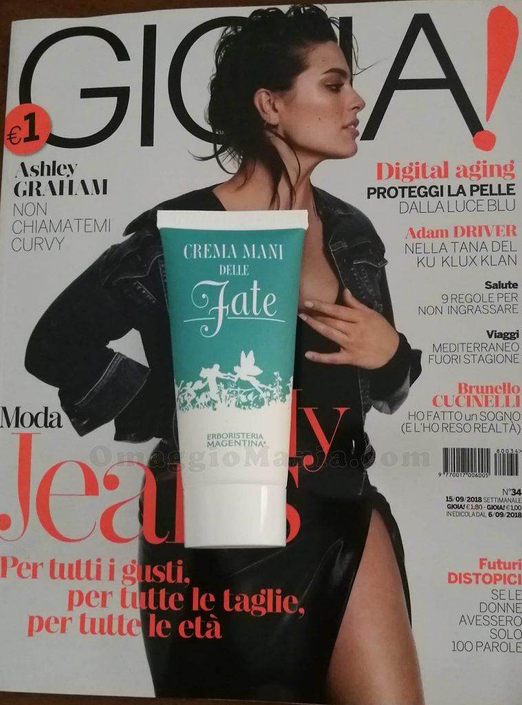 Crema mani delle fate Erboristeria Magentina con Gioia..
