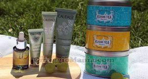 kit Kusmi Tea e Caudalie
