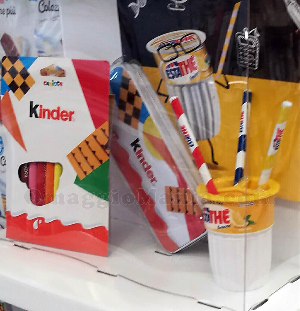 kit scuola Kinder e Ferrero 2018