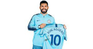 maglietta firmata Kun Agüero