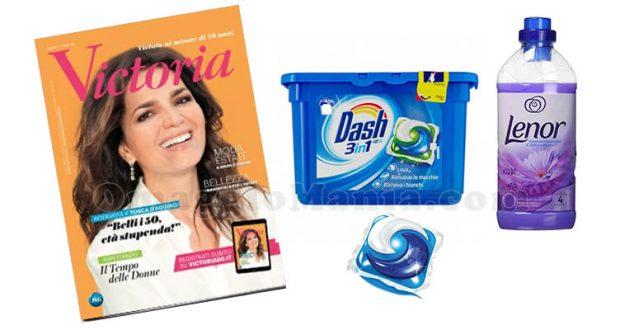 rivista Victoria Dash e Lenor
