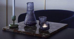 set caraffa e bicchieri Ultima Thule di Tapio Wirkkala