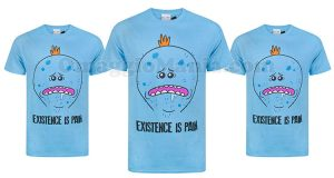 t-shirt Rick and Morty Existence is pain