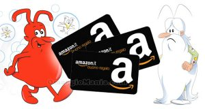 vinci buoni Amazon con Globus