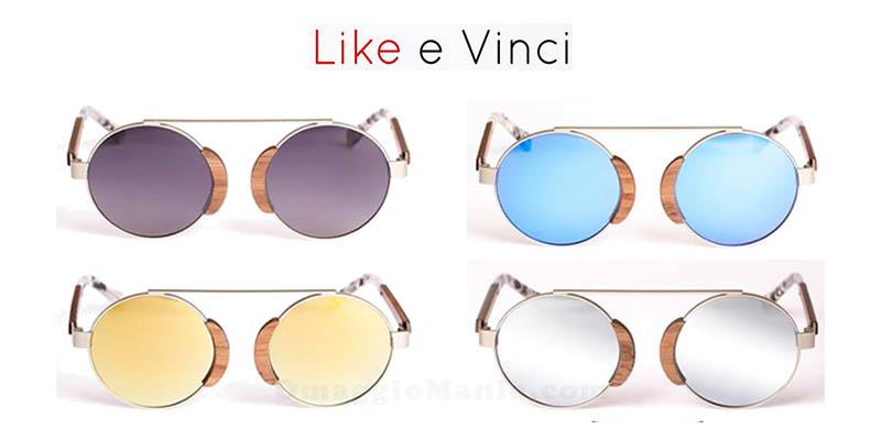vinci occhiali da sole Roger Gufo Italy