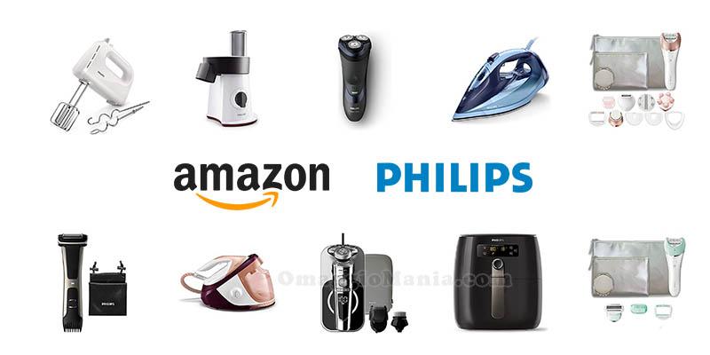 Amazon Philips ricevi 50€ di sconto in carrello