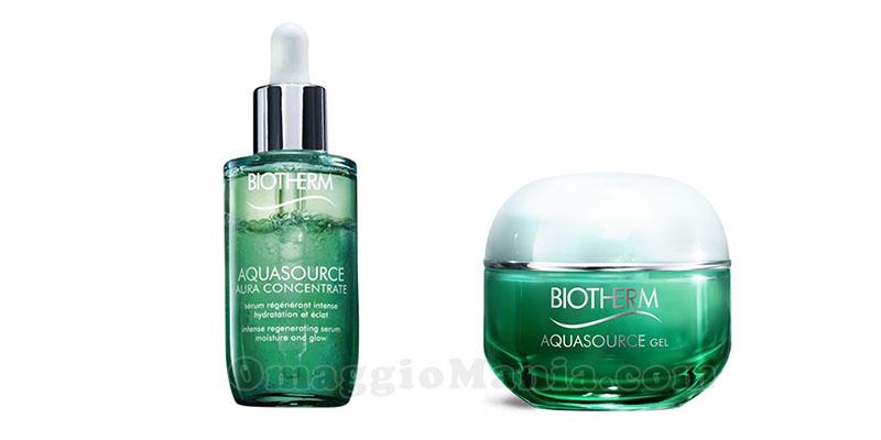 Biotherm siero e gel Aquasource