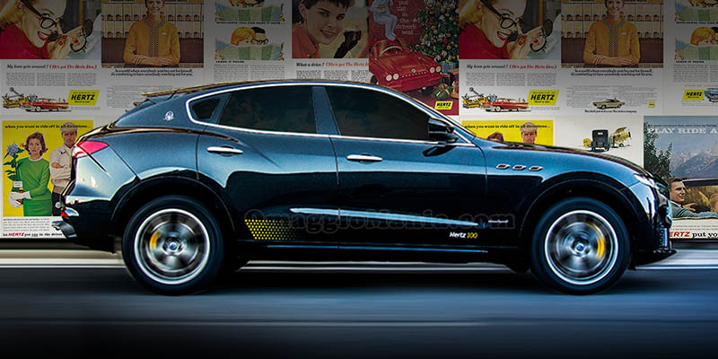 Maserati Levante Hertz limited edition