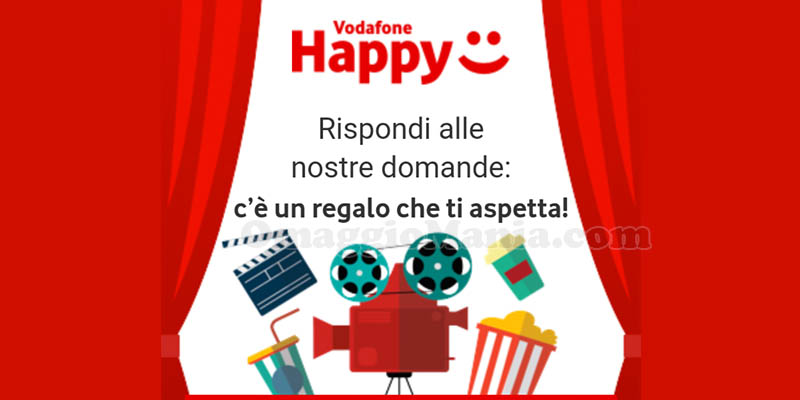 Vodafone Happy Moments 3 ottobre 2018