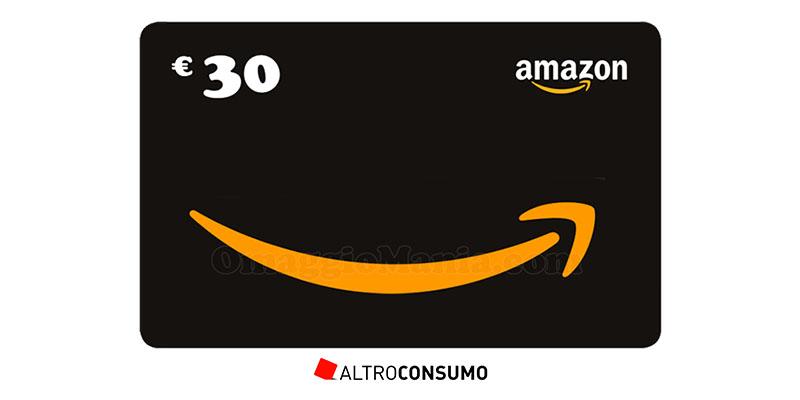 buono Amazon 30 euro con Altroconsumo
