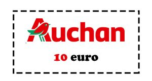 buono Auchan 10 euro