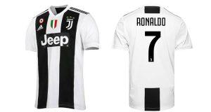 maglietta Juventus Cristiano Ronaldo 2018 2019