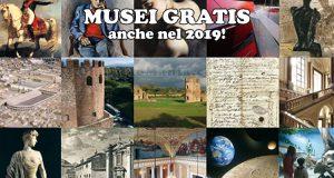 musei gratis 2019