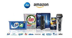 prodotti P&G su Amazon
