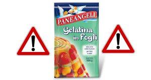 ritiro Paneangeli gelatina in fogli