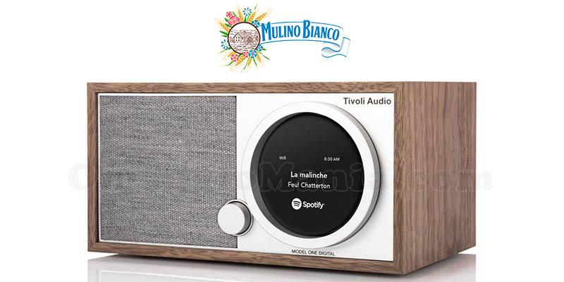 vinci Radio Tivoli One Digitalin con Mulino Bianco