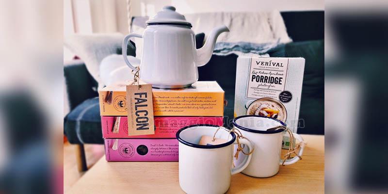 vinci teiera, tazze e set colazione Verival Bio