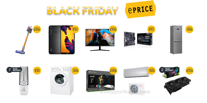 Black Friday ePrice 2018