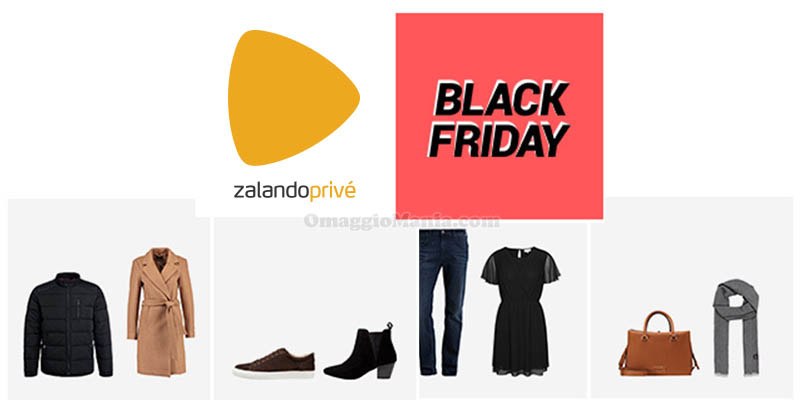 Zalando Privè Black Friday 2018