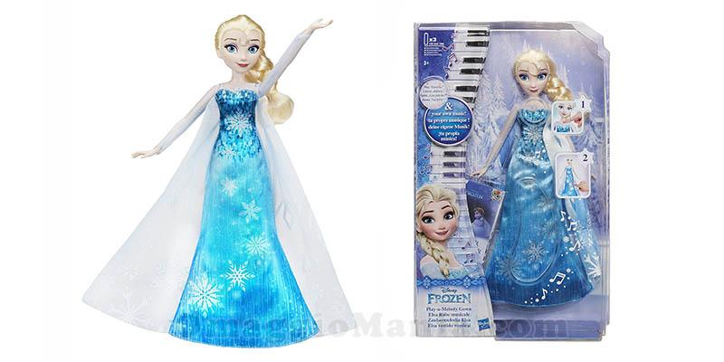 bambola musicale Elsa Frozen Hasbro