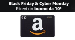buono 10 euro libri Black Friday e Cyber Monday 2018