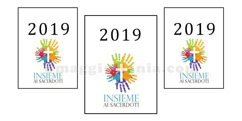 calendario 2019 Insieme ai Sacerdoti