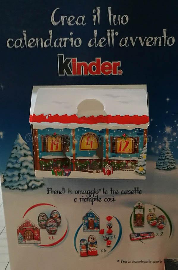 Calendario Avvento Kinder.Calendario Dell Avvento Kinder Omaggio Omaggiomania